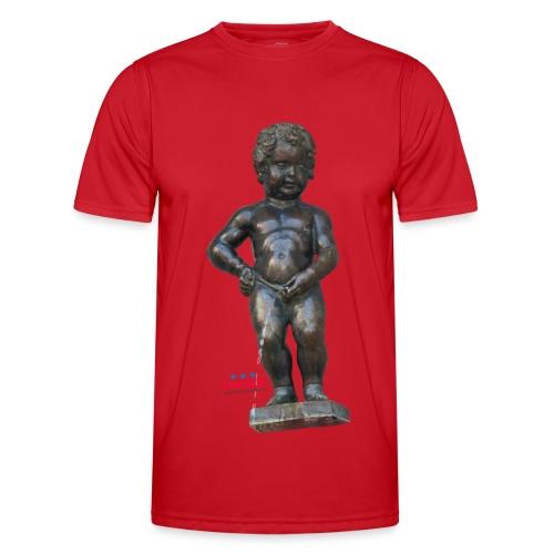 BiG REAL mannekenpis ♀♂   小便小僧 - T-shirt sport Homme