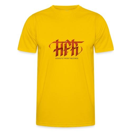 HFR - Logotipo fatto a mano - Maglietta sportiva per uomo