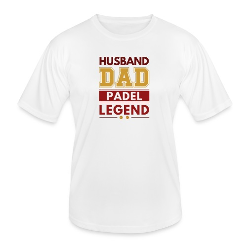 Man Pappa Padel Legend - Funktions-T-shirt herr