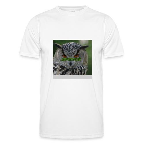 JohannesB lue - Funksjons-T-skjorte for menn