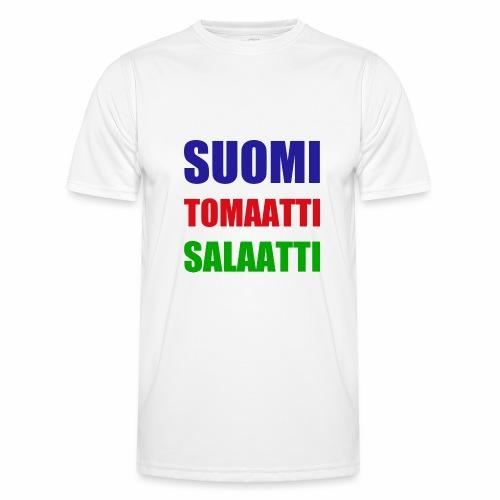 SUOMI SALAATTI tomater - Funksjons-T-skjorte for menn