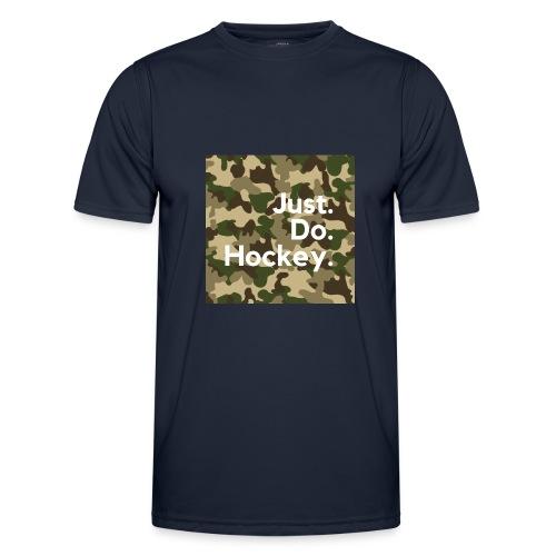 Just.Do.Hockey 2.0 - Functioneel T-shirt voor mannen