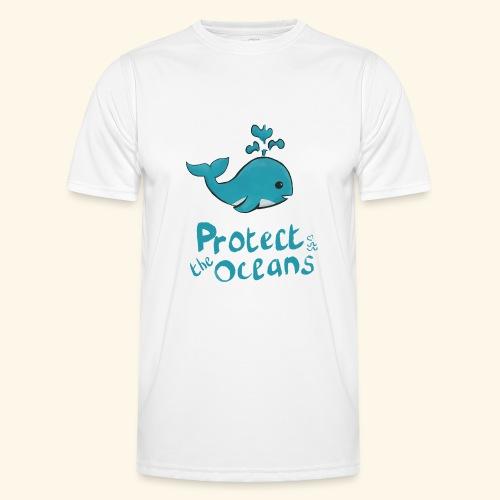 Protèges les océans - T-shirt sport Homme