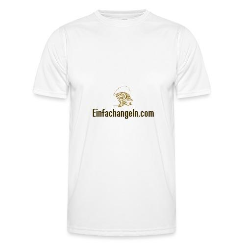 Einfachangeln Teamshirt - Männer Funktions-T-Shirt