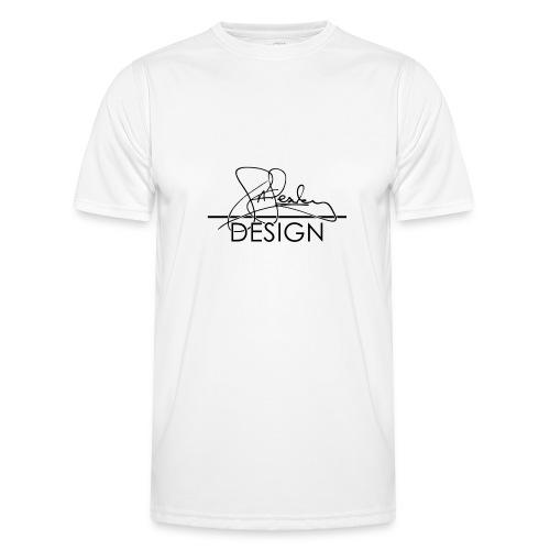 sasealey design logo png - Men's Functional T-Shirt