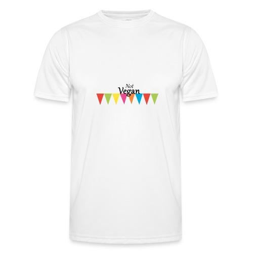 Not Vegan - Men's Functional T-Shirt