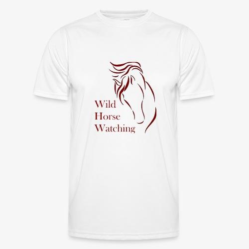 Logo Aveto Wild Horses - Maglietta sportiva per uomo