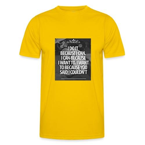 I_DO_IT - Functioneel T-shirt voor mannen