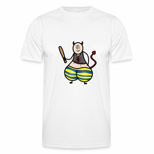 Devil No Touchies Charlie - Men's Functional T-Shirt