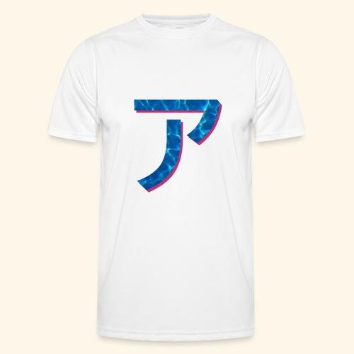 ア logo - T-shirt sport Homme