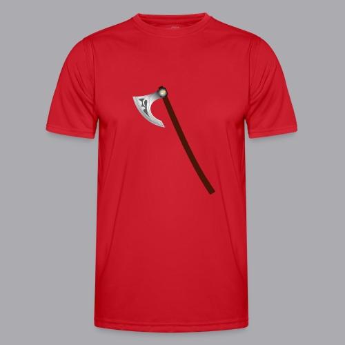 Wikinger Beil - Männer Funktions-T-Shirt