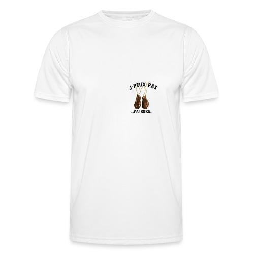 J'peux pas j'ai boxe ! - T-shirt sport Homme