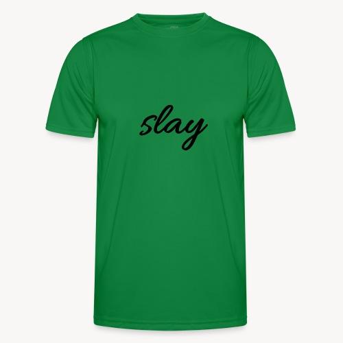 SLAY - Miesten tekninen t-paita