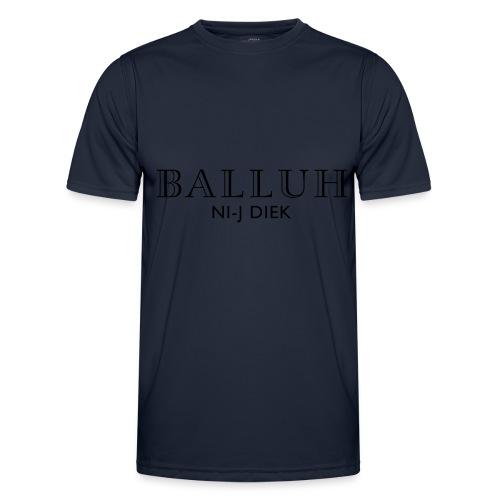 BALLUH NI-J DIEK - grijs/zwart - Functioneel T-shirt voor mannen