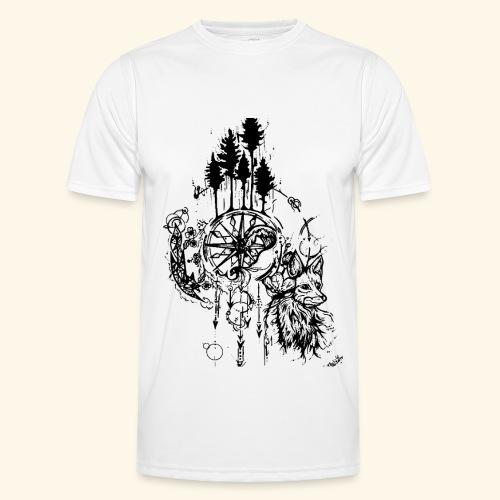 renard nature - T-shirt sport Homme