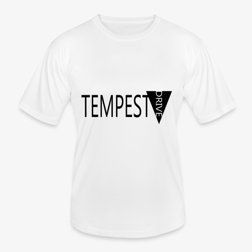 Tempest Drive: Full Logo - Funktionsshirt til herrer