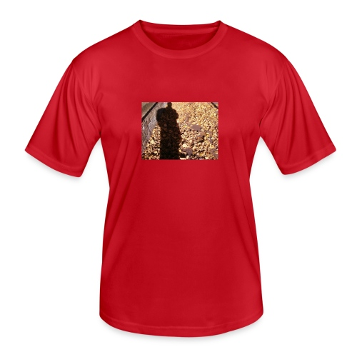 THE GREEN MAN IS MADE OF AUTUMN LEAVES - Men's Functional T-Shirt