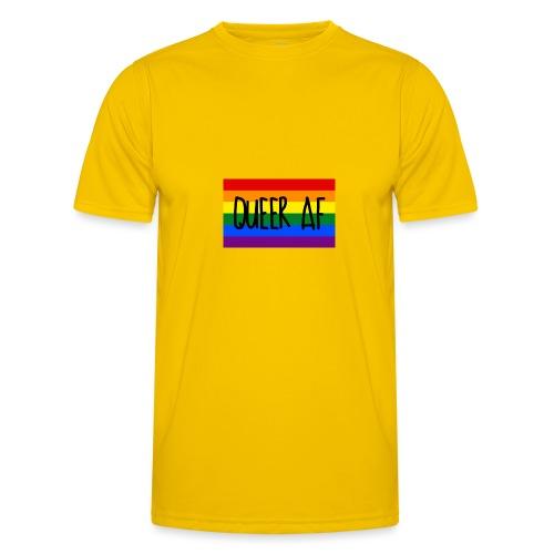 queer af - Männer Funktions-T-Shirt