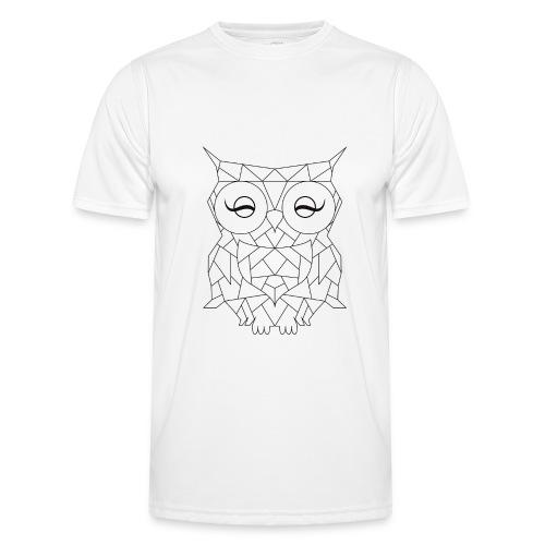 Geometric OWL - T-shirt sport Homme