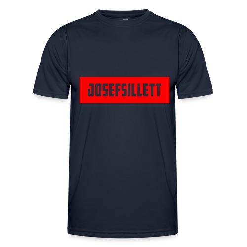 Josef Sillett Red - Men's Functional T-Shirt