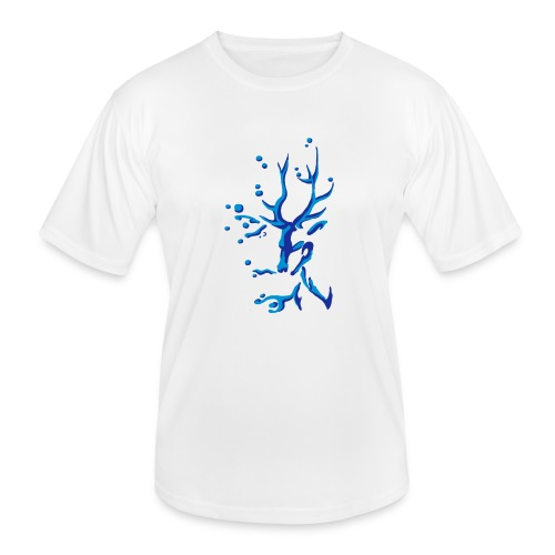 Hirsch - Männer Funktions-T-Shirt