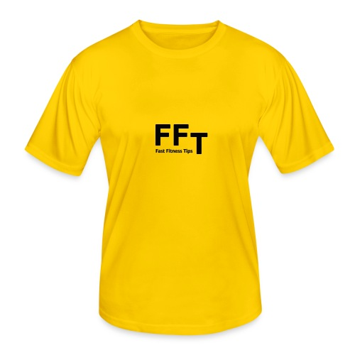 FFT simple logo letters - Men's Functional T-Shirt