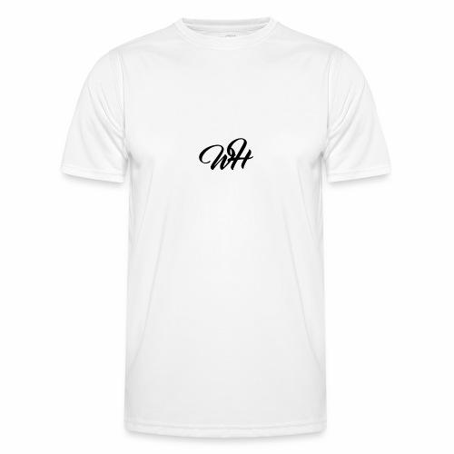 Basic logo - Funktionsshirt til herrer