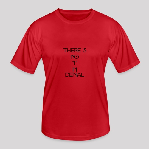 No I in denial - Functioneel T-shirt voor mannen