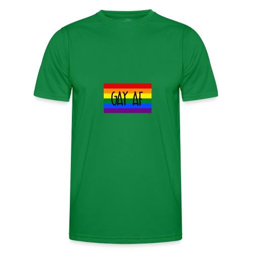 gay af - Männer Funktions-T-Shirt