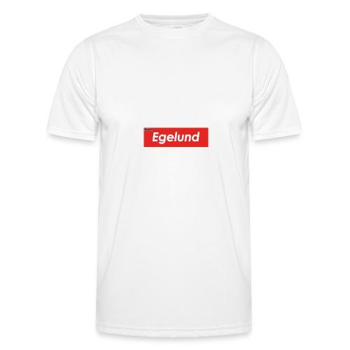 Albert Egelund Box Logo - Funktionsshirt til herrer
