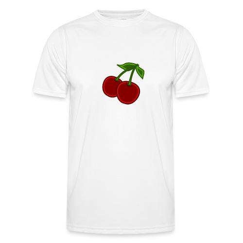 cherry - Funkcjonalna koszulka męska