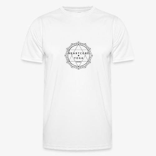 Heartcore Yoga - Functioneel T-shirt voor mannen