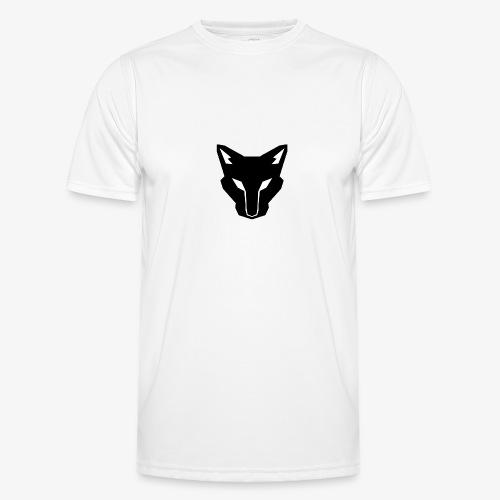OokamiShirt Noir - T-shirt sport Homme