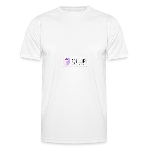 Qi Life Academy Promo Gear - Men's Functional T-Shirt