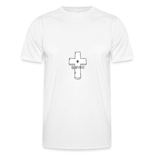 survive - Miesten tekninen t-paita
