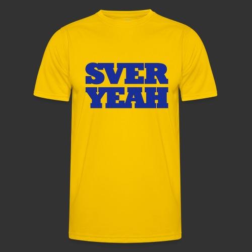SVERYEAH GulBlå - Funktions-T-shirt herr