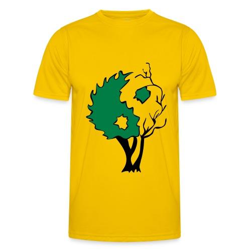 Yin Yang Arbre - T-shirt sport Homme