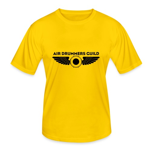 ADG Drum'n'Wings Emblem - Men's Functional T-Shirt