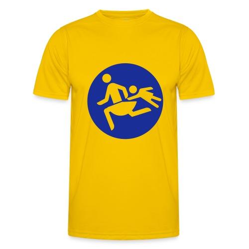 Running Mamas - Männer Funktions-T-Shirt