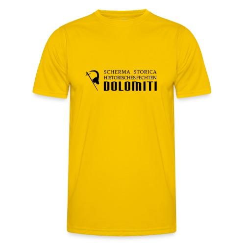 Maglietta 2021, nero su sfondo colorato - Maglietta sportiva per uomo