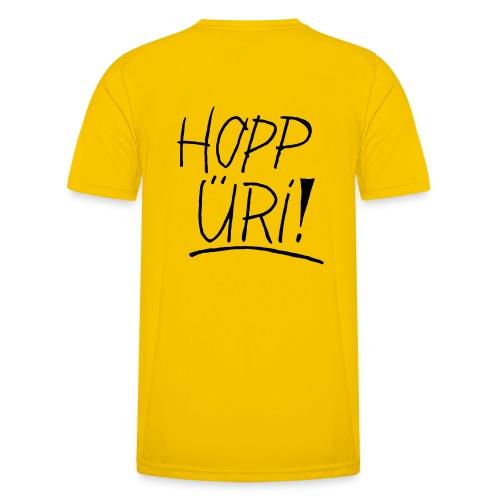 Hopp Üri - Männer Funktions-T-Shirt