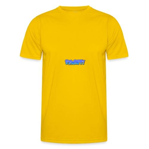 senden - Männer Funktions-T-Shirt