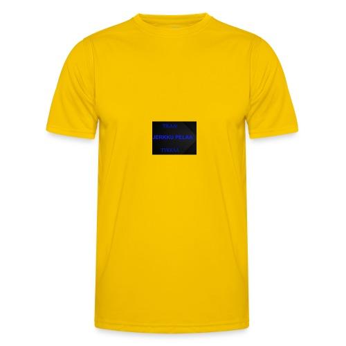 jerkku - Miesten tekninen t-paita