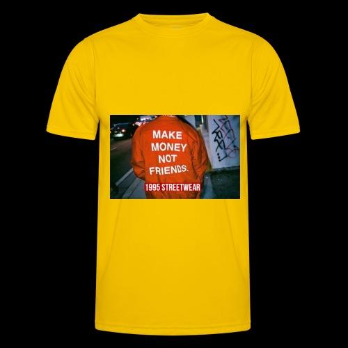 MAKE MONEY NOT FRIENDS - Maglietta sportiva per uomo
