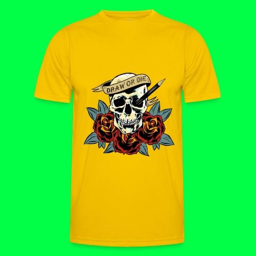draw or die - T-shirt sport Homme
