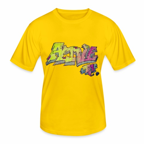 ALIVE TM Collab - Men's Functional T-Shirt