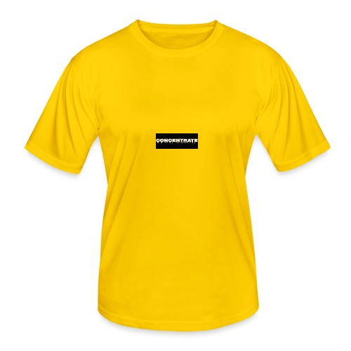 Concentrate on black - Men's Functional T-Shirt