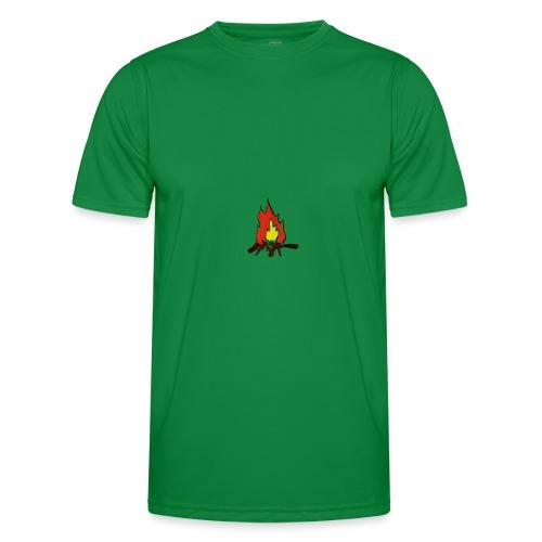 Fire color fuoco - Maglietta sportiva per uomo