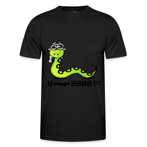U zegge SSSS !!! - Functioneel T-shirt voor mannen