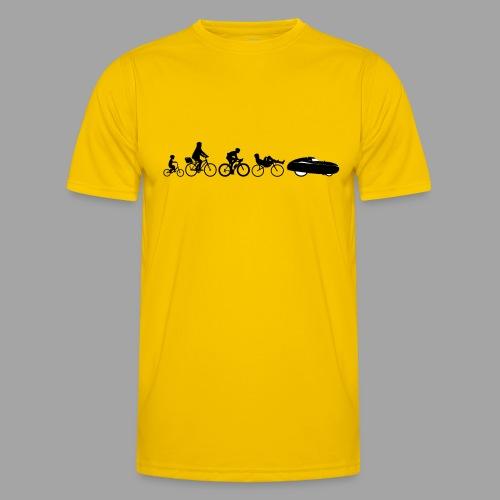 Bicycle evolution black - Miesten tekninen t-paita